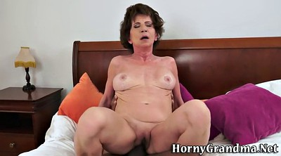 Old, Old woman, Interracial mature
