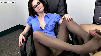 Pantyhose foot, Pantyhose feet, Job, Foot job