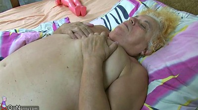 Bbw granny, Hairy mature