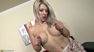 Mom, Anal mom, Mature mom, Mature anal, Blonde mature