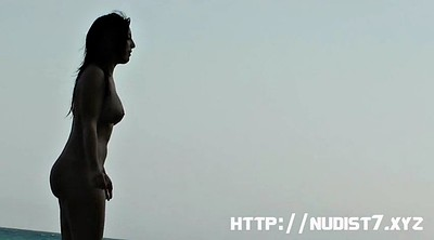 Nudist, Beautiful woman
