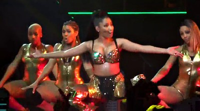 Dance, Celebrity, Nicki minaj, Danceing, Sexy lingerie, Sexy dancing