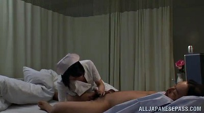 Nurse, Nurses, Asian handjob