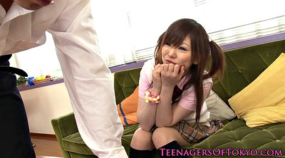 Japanese schoolgirl, Teen doggy