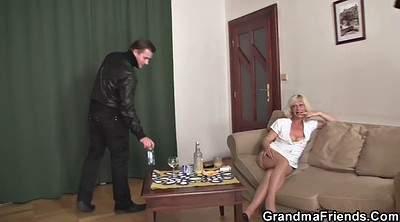 Old granny, Wife threesome, Old young threesome, Grandmas