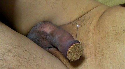 Needle, Asian gay, Asian gaping, Needles, Foreskin