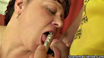 Plumper, Seduces, Old wife, Milf granny