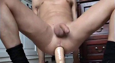 Boy, Huge dildo
