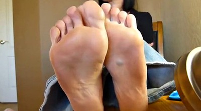 Foot fetish, Mature foot