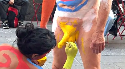 Body, Body paint, Painting