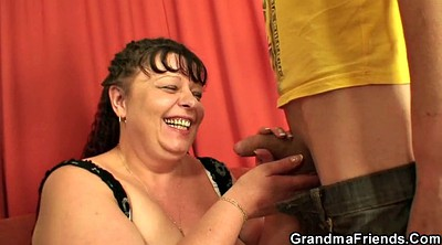 Mommy, Plump, Two granny, Plump mature
