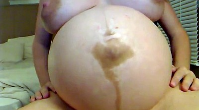 Preggo, Belly, Pregnant bbw, Pregnant solo, Show, Big belly