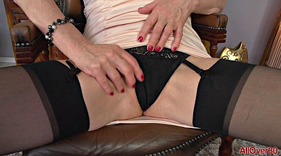 Stockings solo, Stocking masturbation