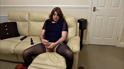 Crossdresser, Crossdress, Butt plug