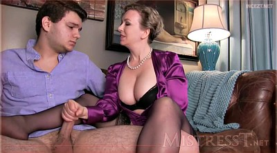 Taboo, Taboo mom, Roleplay, Pantyhose mom, Mom pantyhose, Mom handjob
