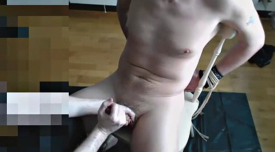 Feet, Gay bondage, Hand, Handjob feet, Gay milking, Handjob milking