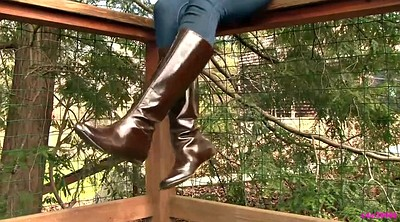 Shoeplay, Leather, Dangling, Boot