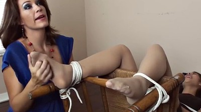 Tickle, Tickling, Tickled, Pantyhose foot