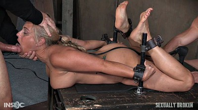 Choked, Tied up, Humiliation