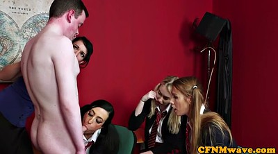 Fetish, Students, In front of