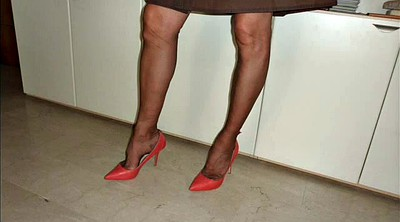 Foot, Nylons, Shoe