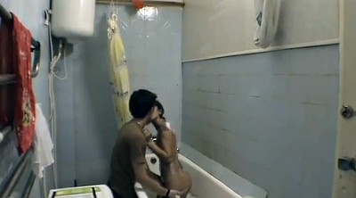 Toilet, Sister, Brother and sister, Hidden camera