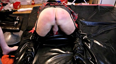 Crossdresser, Crossdress, Punish, Spanking punishment