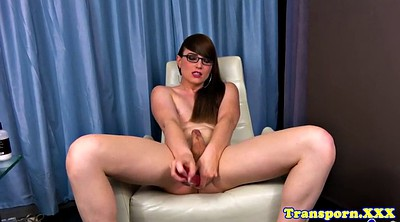 Beautiful shemale, Jerk, Beauty solo