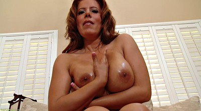 Big tit mom, Mom solo