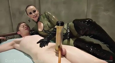 Mistress handjob, Milk, Milking