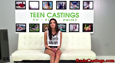 Casting, Teen casting, Rough fuck