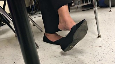 Shoeplay, Teacher feet, Ebony teacher