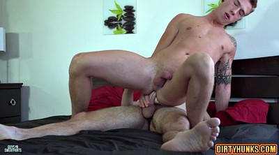 Blowjob, Oral creampie, Gay threesome