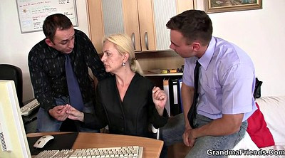Job interview, Casting young, Threesome mature, Casting mature