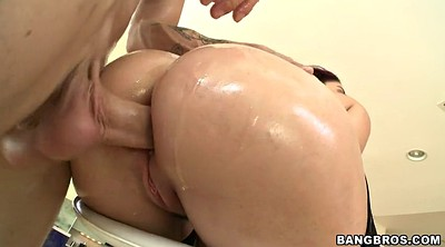 Oiled anal, Stool