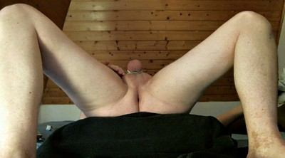 Training, Plug, German anal, Big balls, Anal plug