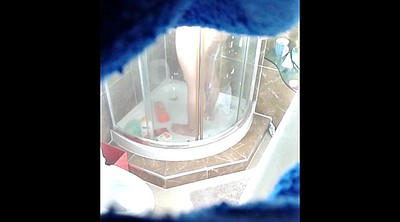 Hidden, Voyeur shower, Hidden cam shower, Cam young