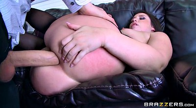 Office anal, Boss, At work, Pantyhose anal