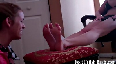 Foot worship, Claire