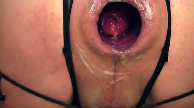 Gaping pussy