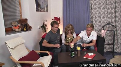 Mommy, Wife threesome, Two old, Pick up milf, Granny threesome