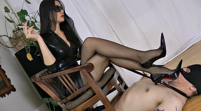 Male slave, Mistress slave, Male, Asian mistress