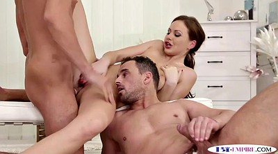 Love anal, Anal threesome