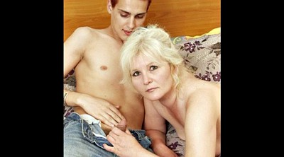 Russian mature, Russian mom, Mature mom, Young mom