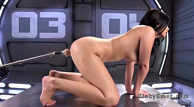 Machine, Insertions, Latina dildo