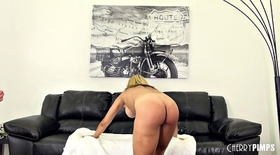 Big tits, Hairy blonde, Couch, Bounce