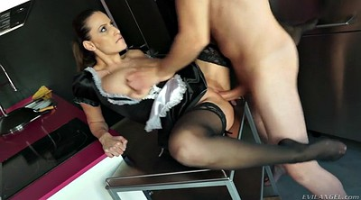 Maid, Big boobs, Sensual jane, Romanian, The maid