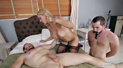 Husband, Wife watching husband, Alexis fawx