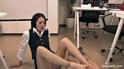 Japanese foot, Asian foot, Japanese feet, Asian office, Japanese office, Secretary