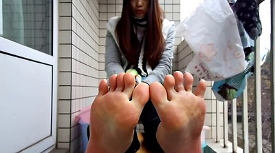 Chinese teen, Chinese foot fetish, Chinese foot